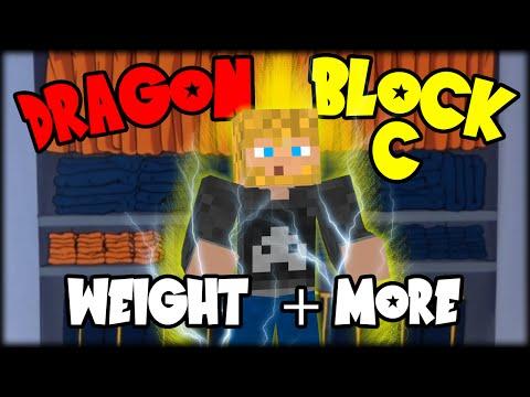 WEIGHT SYSTEM & MORE! - Minecraft Mod : Dragon Block C