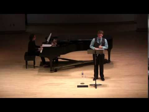 Oboe Concerto by Ralph Vaughan Williams at my Senior Undergraduate Recital! Love this piece.