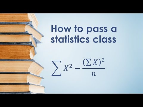 PSY 2110 Statistics: How to Pass a Statistics Class - YouTube