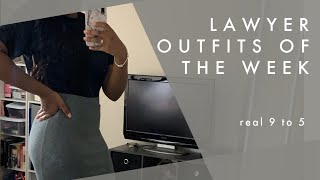 LAWYER OUTFITS OF THE WEEK | Business Casual Workwear
