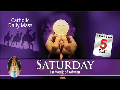 Catholic Mass Online 5th December 2020 Livestream