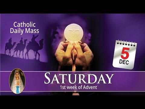 Catholic Mass Online 5th December 2020 Livestream