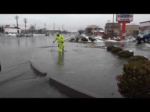 Public Works: Moderate street flooding in Carson City due to