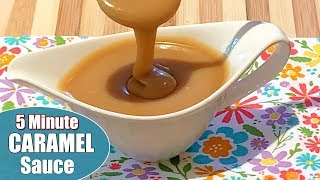 toffee sauce made with evaporated milk