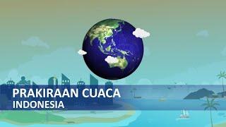 Peringatan Dini Cuaca Ekstrem dari BMKG Senin 6 April 2020: 20 Wiayah Hujan Lebat Disertai Angin
