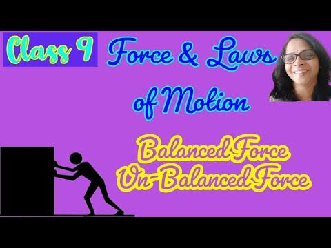 Balanced and unbalanced force , Galileo experiment
