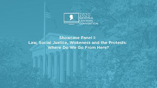 Click to play: Showcase Panel I: Law, Social Justice, Wokeness and the Protests: Where Do We Go From Here?