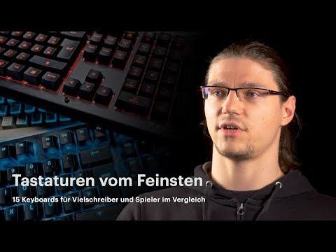 Tastaturen für Vielschreiber und Spieler | nachgehak