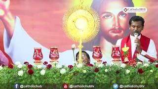 Healing Service-Divine Mercy Bible Convention@Divine Mercy Retreat Centre,Elavur,Ch,TN. 23-04-17