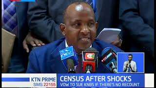 Duale order KNBS to open their servers as census uproar widens