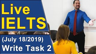 IELTS Live   Task 2   Writing For Band 9