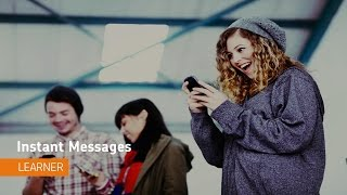 Navigate Brightspace Learning Environment - Instant Messages (Pager) - Learner