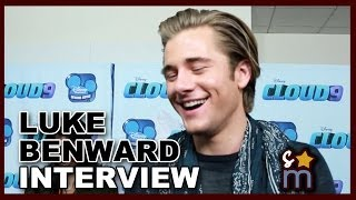 Luke Benward CLOUD 9 Interview - Bloopers, Music & More!