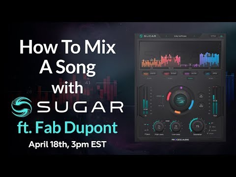 pureMix Live -Fab Dupont Mixing An Entire Song W/ SUGAR