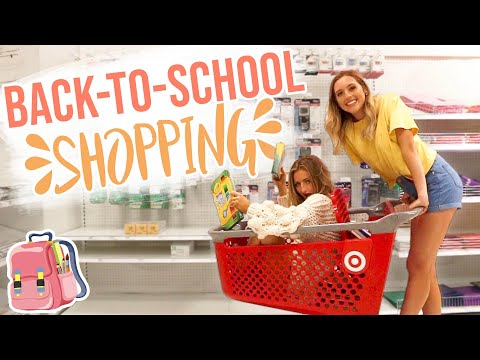 Back-to-School Supply Shopping 2019 w/ Kalista Elaine