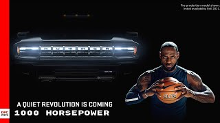 Electric GMC Hummer EV Super Bowl Ad With LeBron James