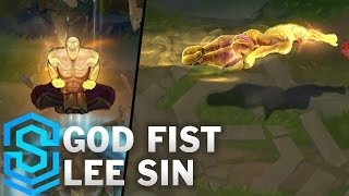 God Fist Lee Sin Skin Spotlight - Pre-Release - League of Legends