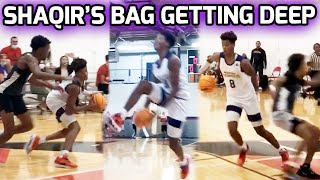 Shaqir O'Neal Just Keeps Getting BETTER! Crazy BEHIND THE BACK DUNK & The Jumper Is Looking CASH 💰