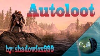 Skyrim SE Autoloot mod - Preview