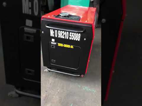 15 Kw Bajaj- m Soundproof Petrol Portable Generator Set