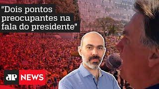 Schelp: Bolsonaro eleva tom acima das quatro linhas da Constituição