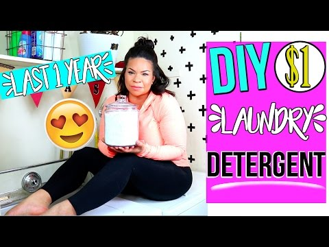 DIY DOLLAR TREE LAUNDRY DETERGENT  + MY LAUNRY ROUTINE! SMELLS AMAZING & LASTS FOR 1 YEAR OR MORE