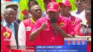 Jubilee leaders accuse the opposition of scheming to cause chaos