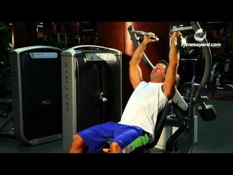 Shoulder Exercises -- Lever Shoulder Press -- Parallel Grip