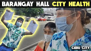 FinnSnow – VISIT TO BARANGAY HALL & CITY HEALTH – Start of NEW PHILIPPINES Life!