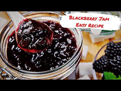 Ягодный конфитюр🔮готовим черничное варенье 🔮How to make Blackberry Jam 🔮 easy recipe (ENG SUBs)