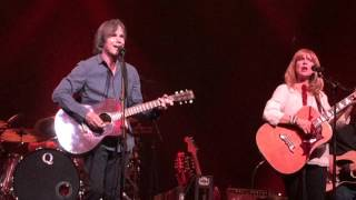 "Front row: Jackson Browne, ""Mama Couldn't Be Persuaded"", Birmingham, AL 10-14-2015"