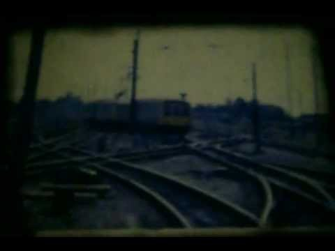 West Coast Main Line at Stafford c1980 8mm footage