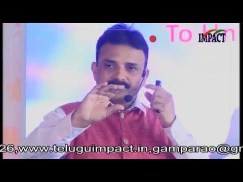 Inward Journey|Uday Kumar|TELUGU IMPACT Karimnagar 2016-Part1