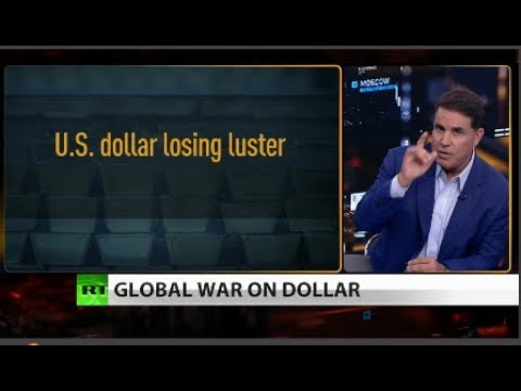 Russia joins China in anti-US-dollar move into gold (Full show)