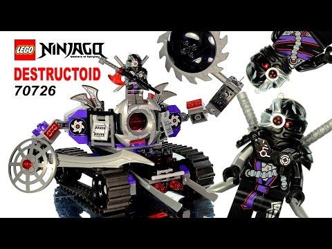 Vidéo LEGO Ninjago 70726 : Destructoïde