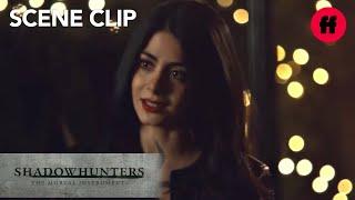 Shadowhunters | Season 3, Episode 9: Lzzy Comforts Simon | Freeform