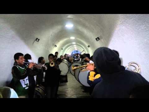 """""""La rebel tunel en C.U"""" Barra: La Rebel • Club: Pumas"""
