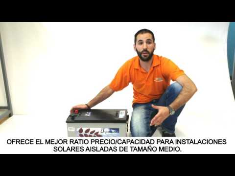 Bateria Monoblock U-Power 250Ah 12V: Tutorial