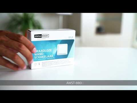 KlikAanKlikUit Wandschakelaar Draadloos AWST-8800