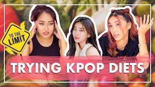 Non-KPOP Fans Try KPOP Diets For A Week