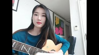 Martin Garrix & Justin Mylo - Burn Out (Feat. Dewain Whitmore) Acoustic Cover by. Jenny Lee