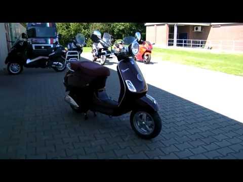 Vespa LXV 125 i.e.-11 Roller/Scooter Rot Chianti 102/A 2011