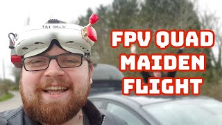 FPV Quadcopter - Maiden Flight