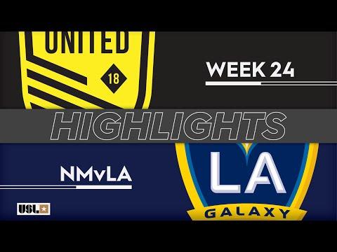 New Mexico - LA Galaxy 2 2:2. Видеообзор матча 18.08.2019. Видео голов и опасных моментов игры