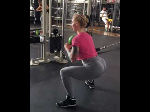 Kettlebell Sumo Squat with Pulse