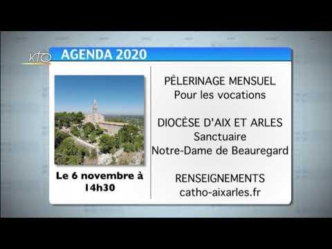 Agenda du 19 octobre 2020
