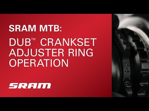 SRAM Dub Adjuster Ring Operation