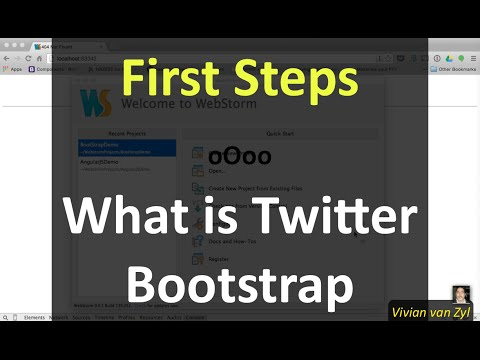 First Steps: What is Twitter Bootstrap?