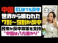 世界中から嫌われる中国!!主要国の国民の7割から9割が中国に嫌悪感。民衆の反中感情が対中戦略を後押し!