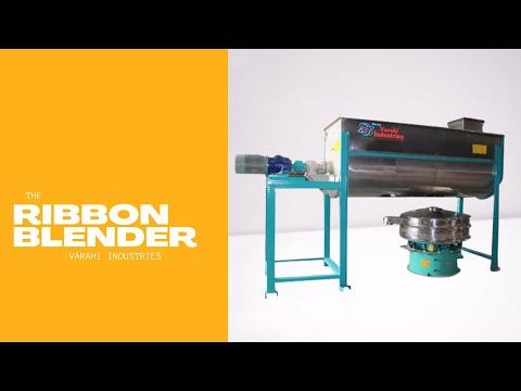 Ribbon Blending Machine